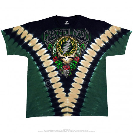 Grateful Dead - GD Shamrock V - Tie-Dye T-Shirt