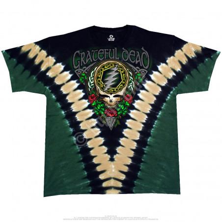 Grateful Dead - GD Shamrock V - Tie-Dye T-Shirt