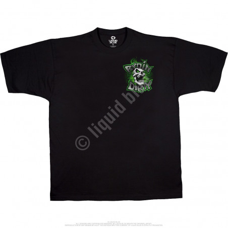 Biker - Rydin Dirty - Black T-Shirt