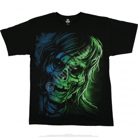 Dark Fantasy - Zombie - Black T-Shirt