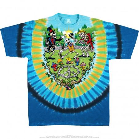 Light Fantasy - Shroomin' - Tie-Dye T-Shirt
