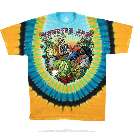 Light Fantasy - Sunrise Jam Tie-Dye T-Shirt