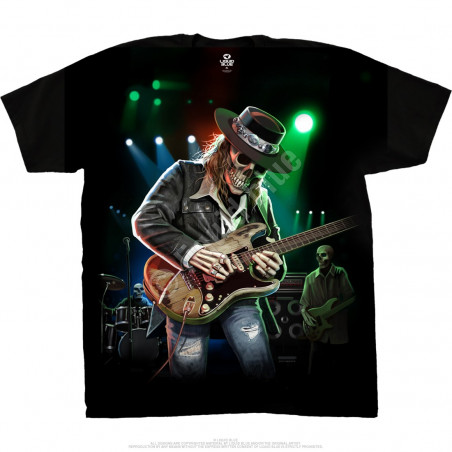 Musica - Texas Blues - Black T-Shirt