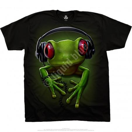Musica - Frog Rock - Black T-Shirt