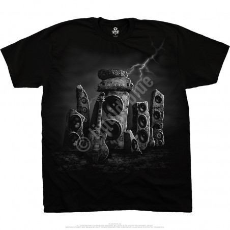 Musica - Rock Rig - Black T-Shirt