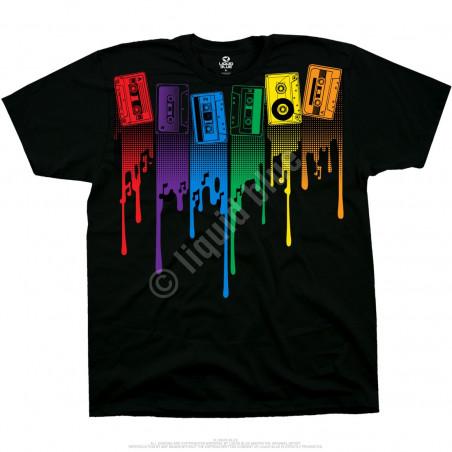Musica - Analog Drip - Black T-Shirt