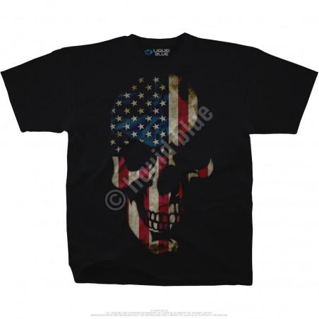 Skulls - American Skull - Black T-Shirt