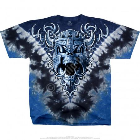 Skulls - Warrior Skull - Tie-Dye T-Shirt