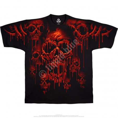 Skulls - Acid Rain - Black T-Shirt