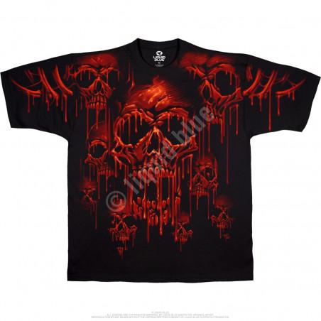 Skulls - Acid Rain - Black T-Shirt