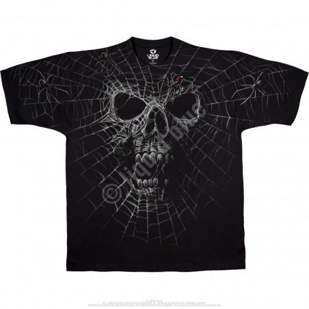 Skulls - Black Widow - Black T-Shirt