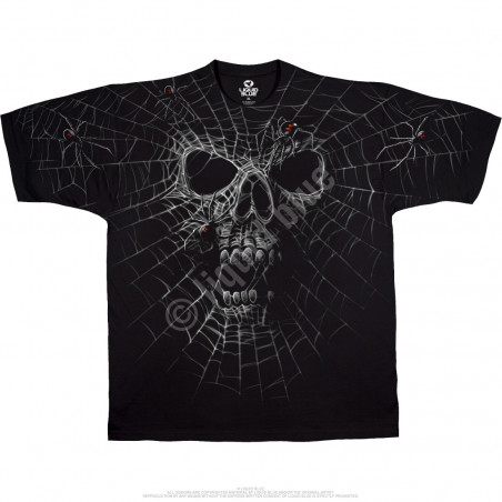 Skulls - Black Widow - Black T-Shirt