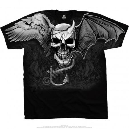 Skulls - Demon Angel - Black T-Shirt