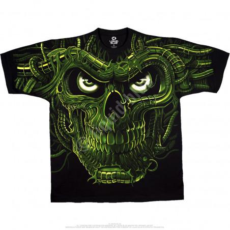 Skulls - Terminator Skull - Black T-Shirt