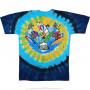 Grateful Dead - Beach Bear Bingo - Tie-Dye T-Shirt