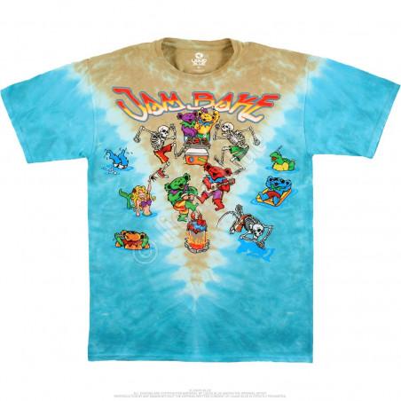 Grateful Dead - Jam Bake - Tie-Dye T-Shirt