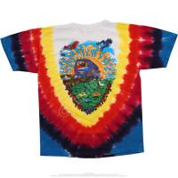 Grateful Dead - Summer Tour Bus Youth - Tie-Dye T-Shirt