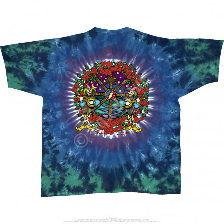 Grateful Dead - Celtic Mandala - Tie-Dye T-Shirt