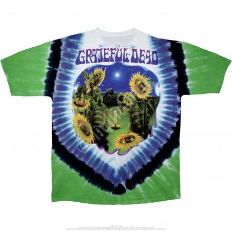 Grateful Dead Sunflower Terrapin Tie-Dye T-Shirt Liquid Blue