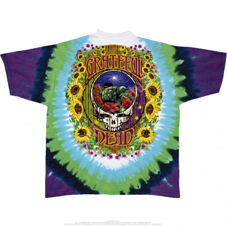 Grateful Dead Terrapin Station Tie-Dye T-Shirt Liquid Blue