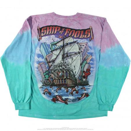 Grateful Dead - Ship Of Fools - Tie-Dye Long Sleeve T-Shirt