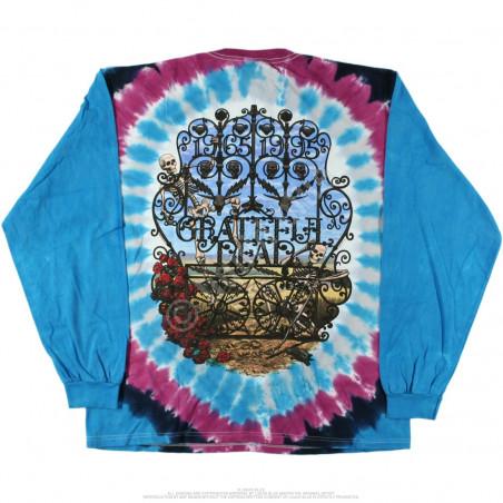 Grateful Dead - 30th Anniversary - Tie-Dye Long Sleeve T-Shirt
