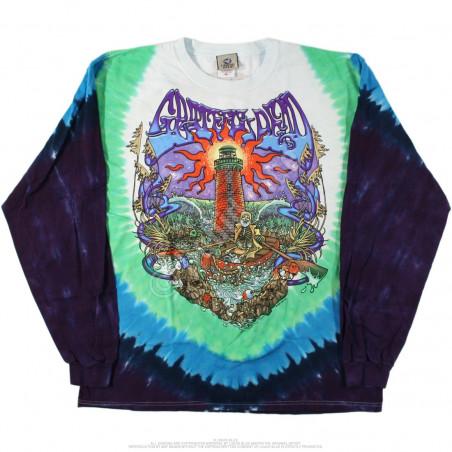 Grateful Dead - Watch Tower - Tie-Dye Long Sleeve T-Shirt