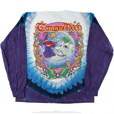 Grateful Dead - Terrapin Moon - Tie-Dye Long Sleeve T-Shirt