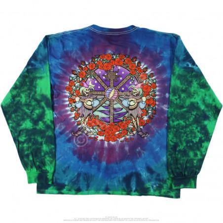 Grateful Dead - Celtic Mandala - Tie-Dye Long Sleeve T-Shirt