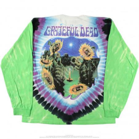 Grateful Dead - Sunflower Terrapin - Tie-Dye Long Sleeve T-Shirt