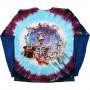Grateful Dead Queen Of Spades Tie-Dye Long Sleeve T-Shirt
