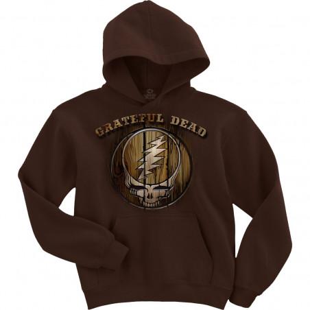 Grateful Dead Dead Brand Brown Hoodie