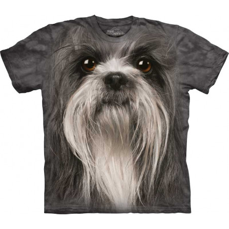 The Mountain Shih Tzu Face T-Shirt