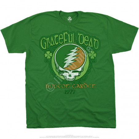 Grateful Dead Shamrock 77 Green T-Shirt