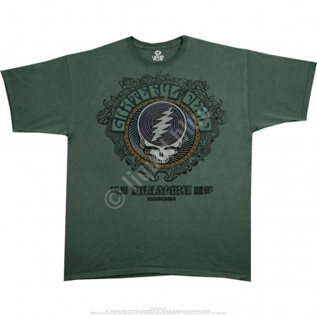 Grateful Dead Fillmore Green Athletic T-Shirt