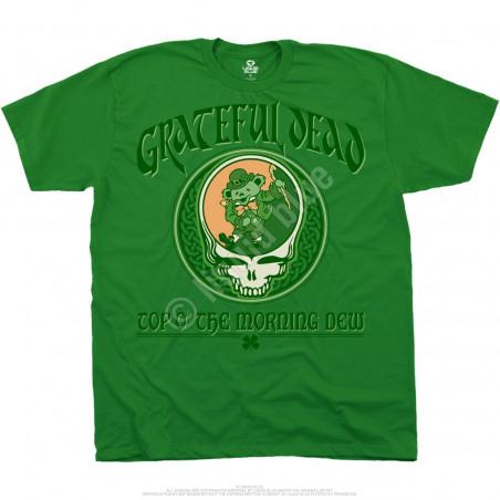 Grateful Dead Morning Dew Green Athletic T-Shirt
