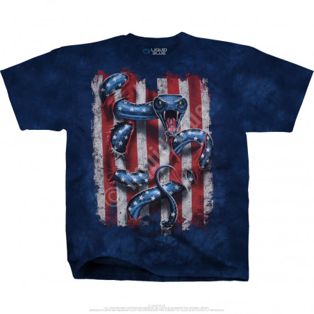 Americana American Serpent Tie-Dye T-Shirt