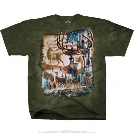 Americana American Herd Tie-Dye T-Shirt