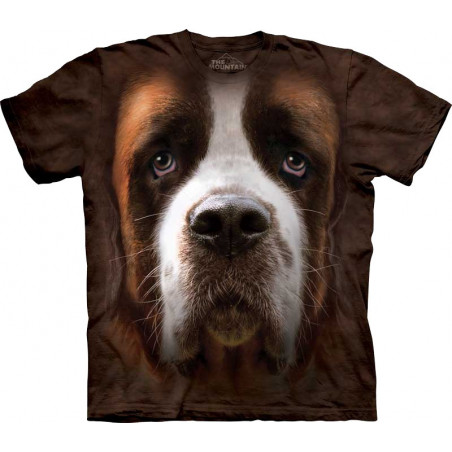 Saint Bernard Face T-Shirt The Mountain