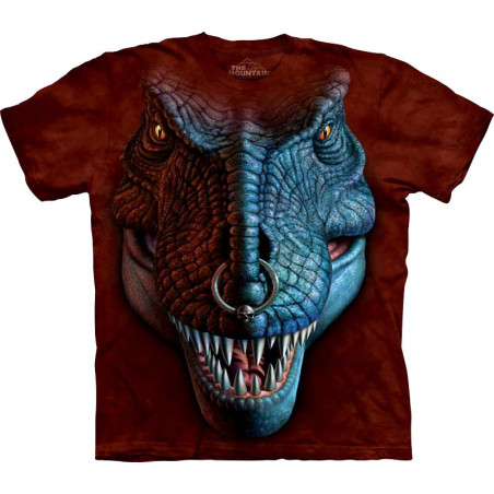 T-Rex Face T-Shirt The Mountain
