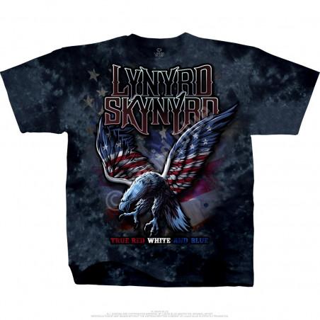 Lynyrd Skynyrd True Red White & Blue Tie-Dye T-Shirt