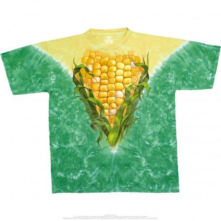 Food Corn Tie-Dye T-Shirt