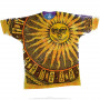 Space Sun Moon Tie-Dye T-Shirt