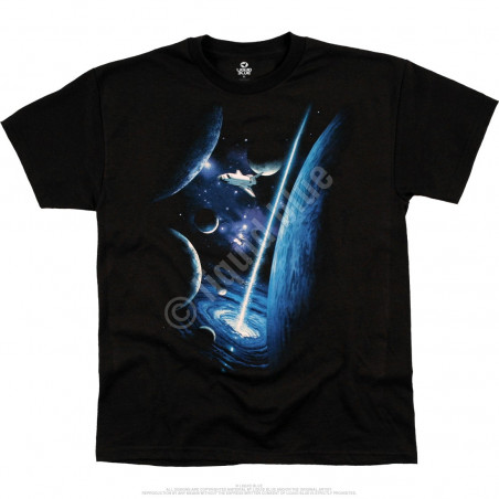Space Orbit Youth Black T-Shirt