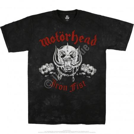 Motorhead Iron Fist Tie-Dye T-Shirt