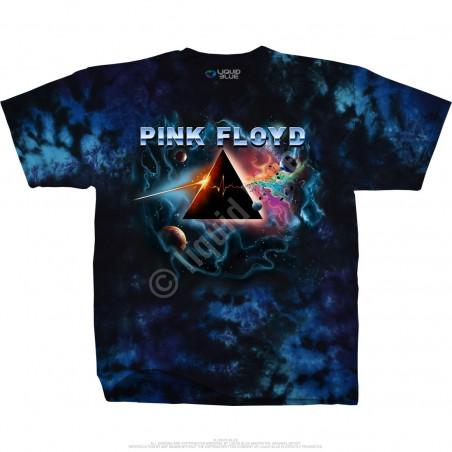 Pink Floyd Pulsar Prism Tie-Dye T-Shirt Liquid Blue