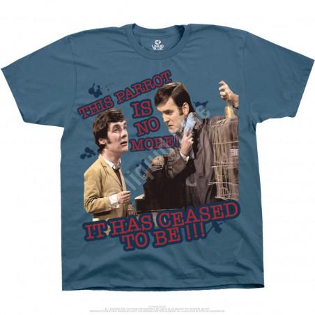 Liquid Blue Monty Python Dead Parrot Blue T-Shirt