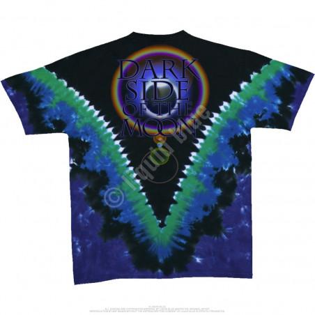 Liquid Blue Pink Floyd Dark Side Vdye Tie-Dye T-Shirt