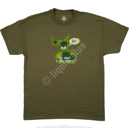 Liquid Blue Monty Python Knights Of Ni Green T-Shirt