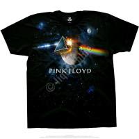 Liquid Blue Pink Floyd Great Gig In The Sky Black Athletic T-Shirt